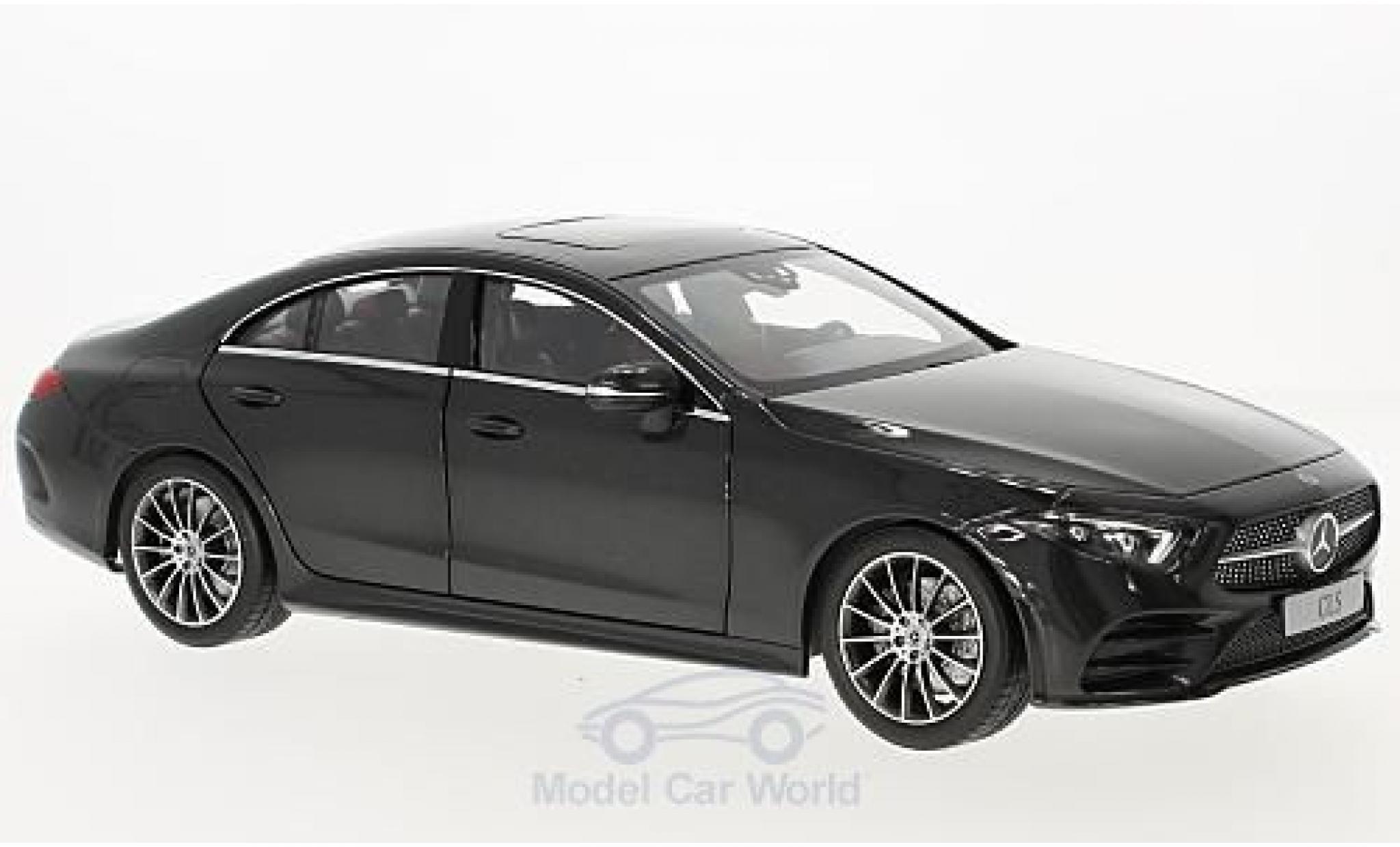 Mercedes CLS 1/18 Norev Coupe (C257) metallise grise 2018