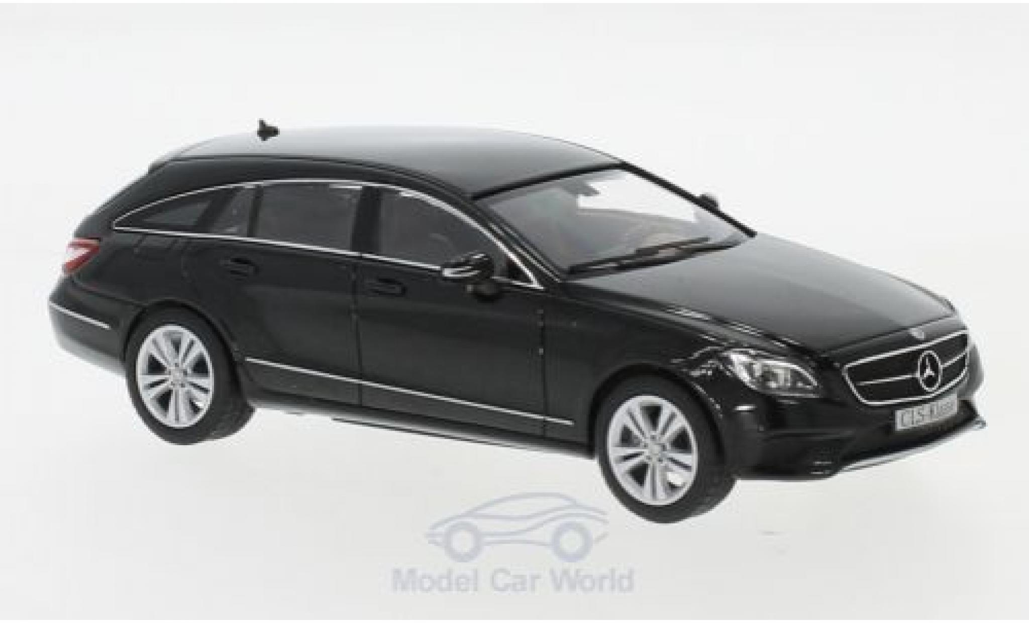 Mercedes CLS 1/43 I Norev Shooting Brake (X218) noire 2014