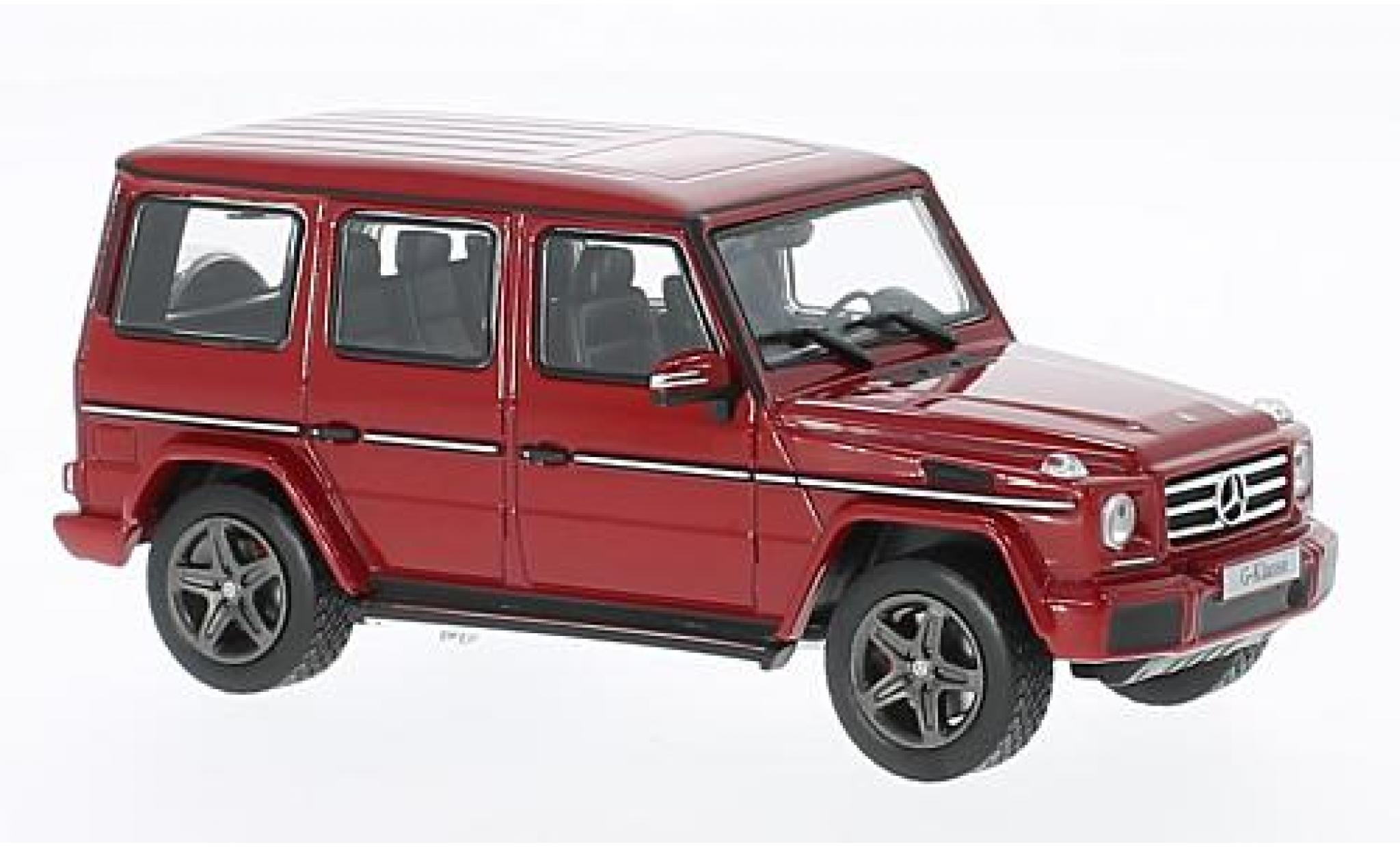 Mercedes Classe G 1/43 I Norev (W463) metallise rouge