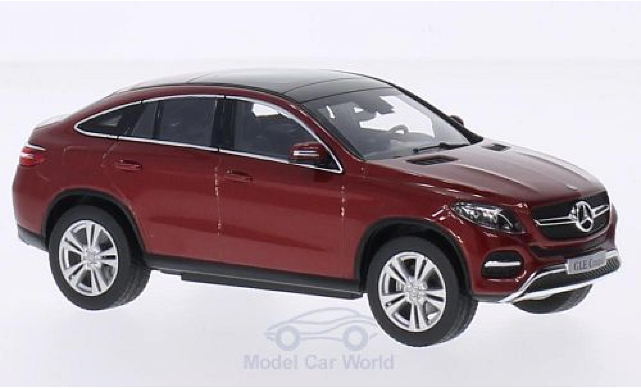 Mercedes Classe GLE 1/43 Norev GLE Coupe (C292) metallise rouge