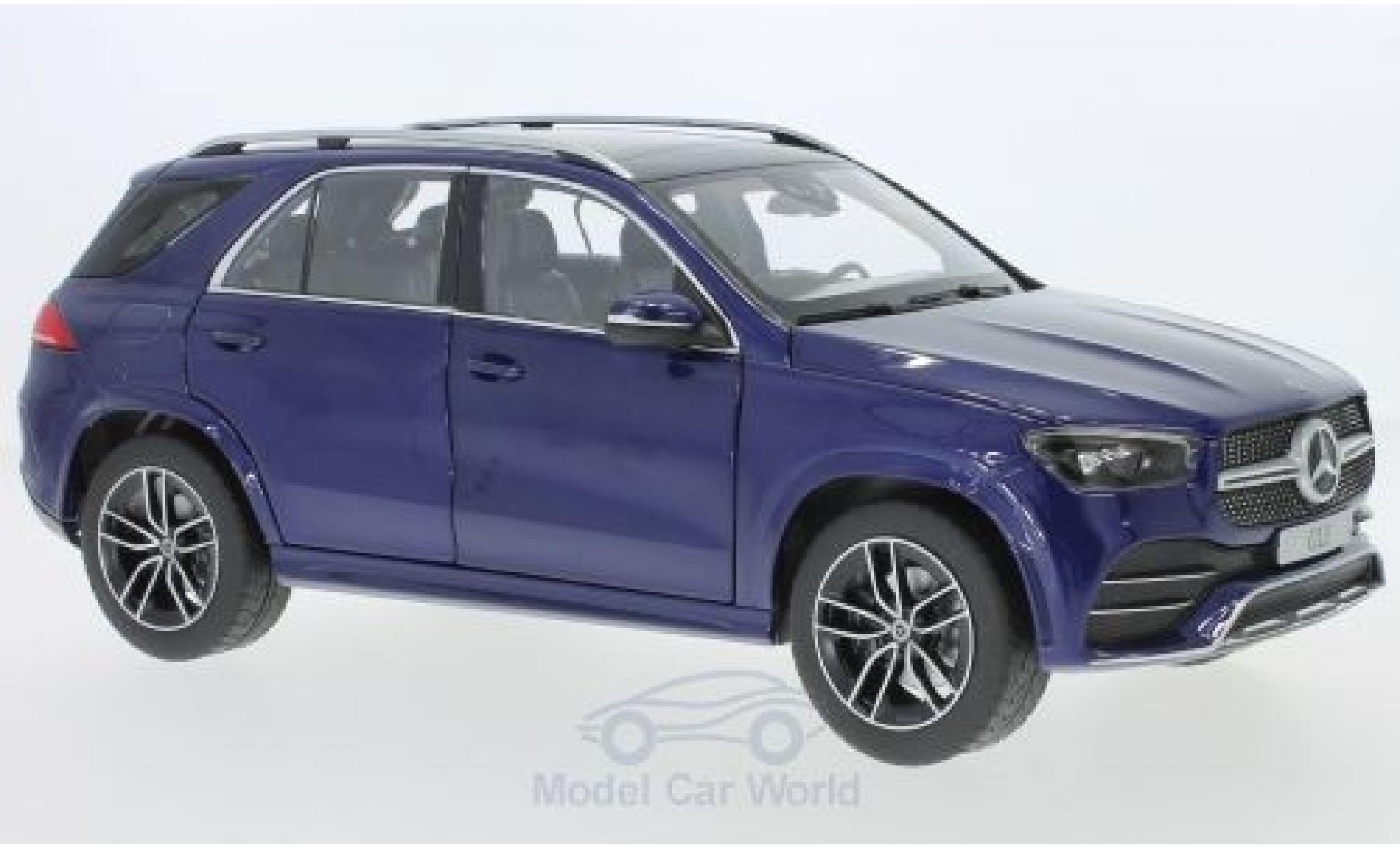 Mercedes Classe GLE 1/18 Norev GLE (V167) métallisé bleue