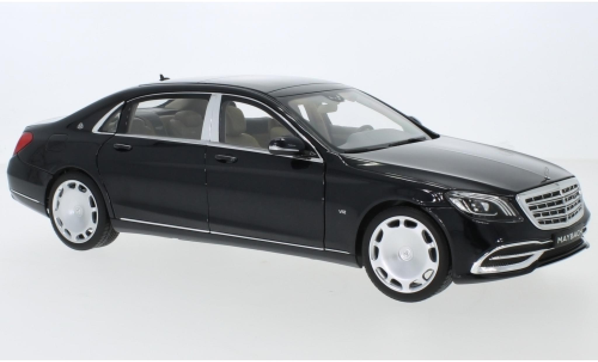 Mercedes Classe S 1/18 I Norev Maybach S 650 (X222) métallisé noire