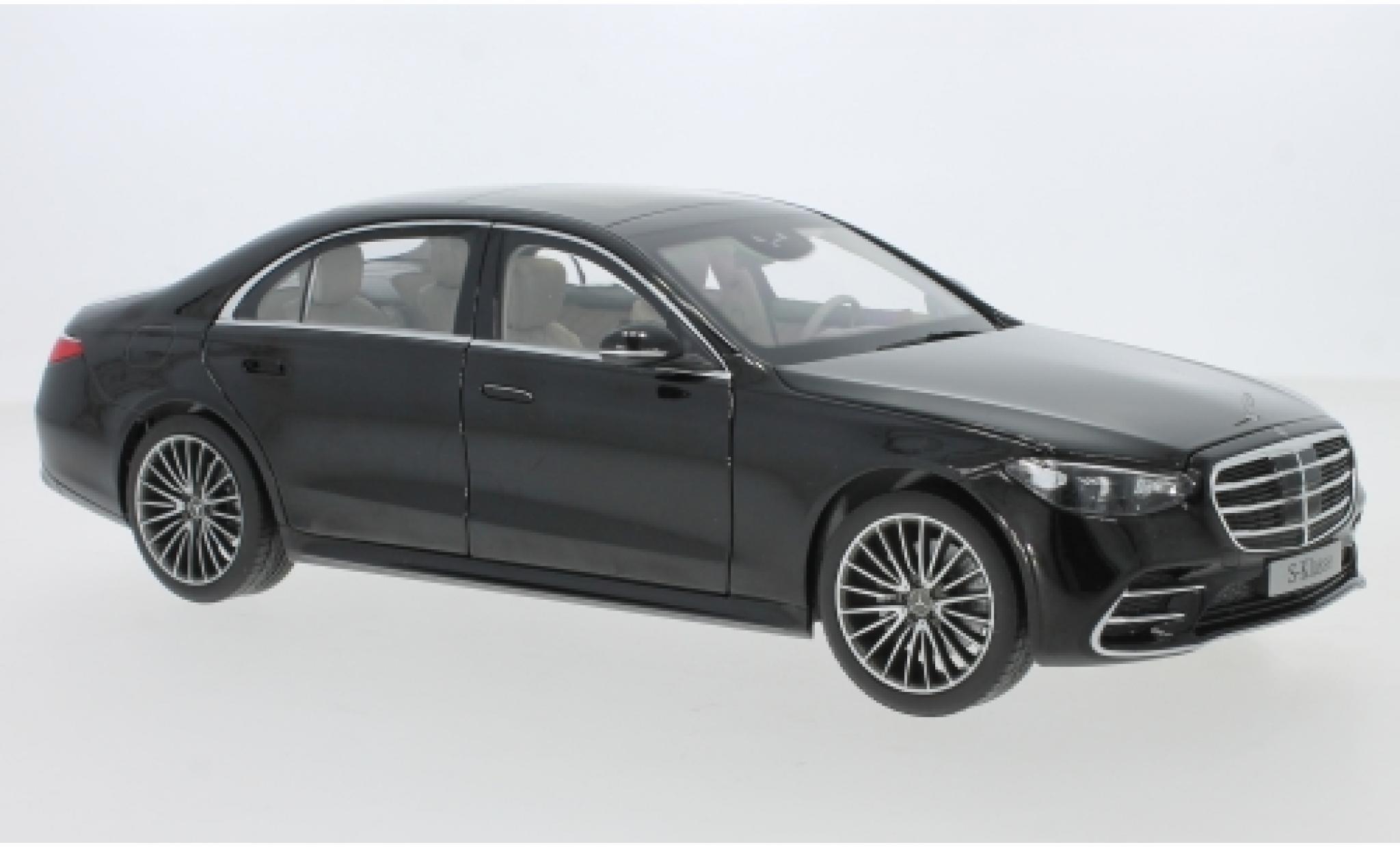 Mercedes Classe S 1/18 I Norev (V223) black 2021