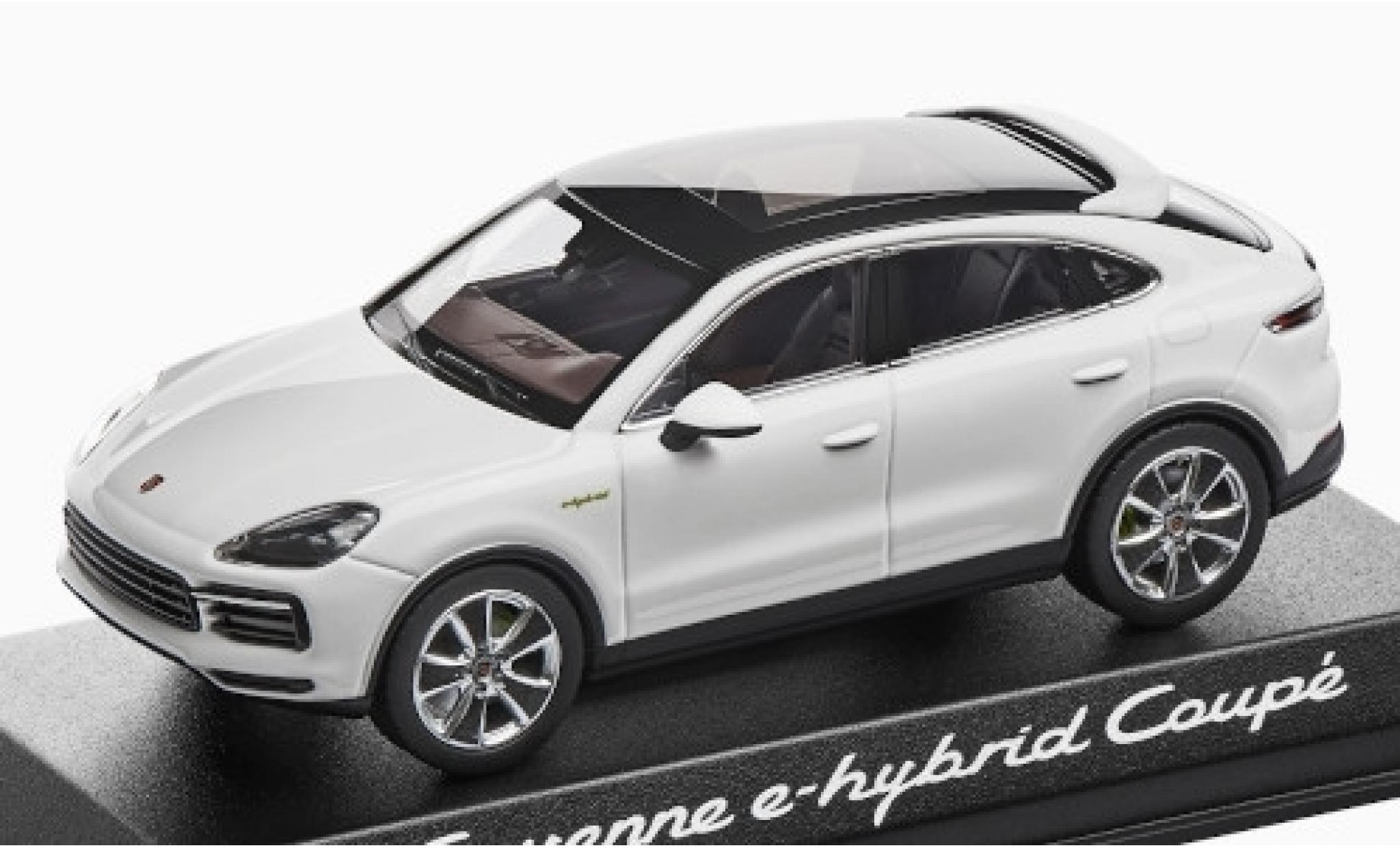 Diecast Model Cars Porsche Cayenne E Hybrid 1 43 Norev Coupe White 2019 Alldiecast Co Uk