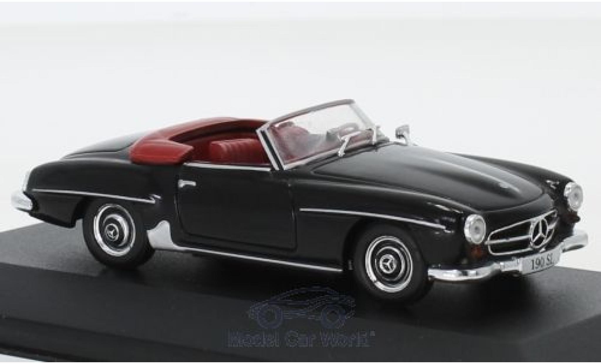 Mercedes 190 1/43 I PCT SL (W121) negro 1955