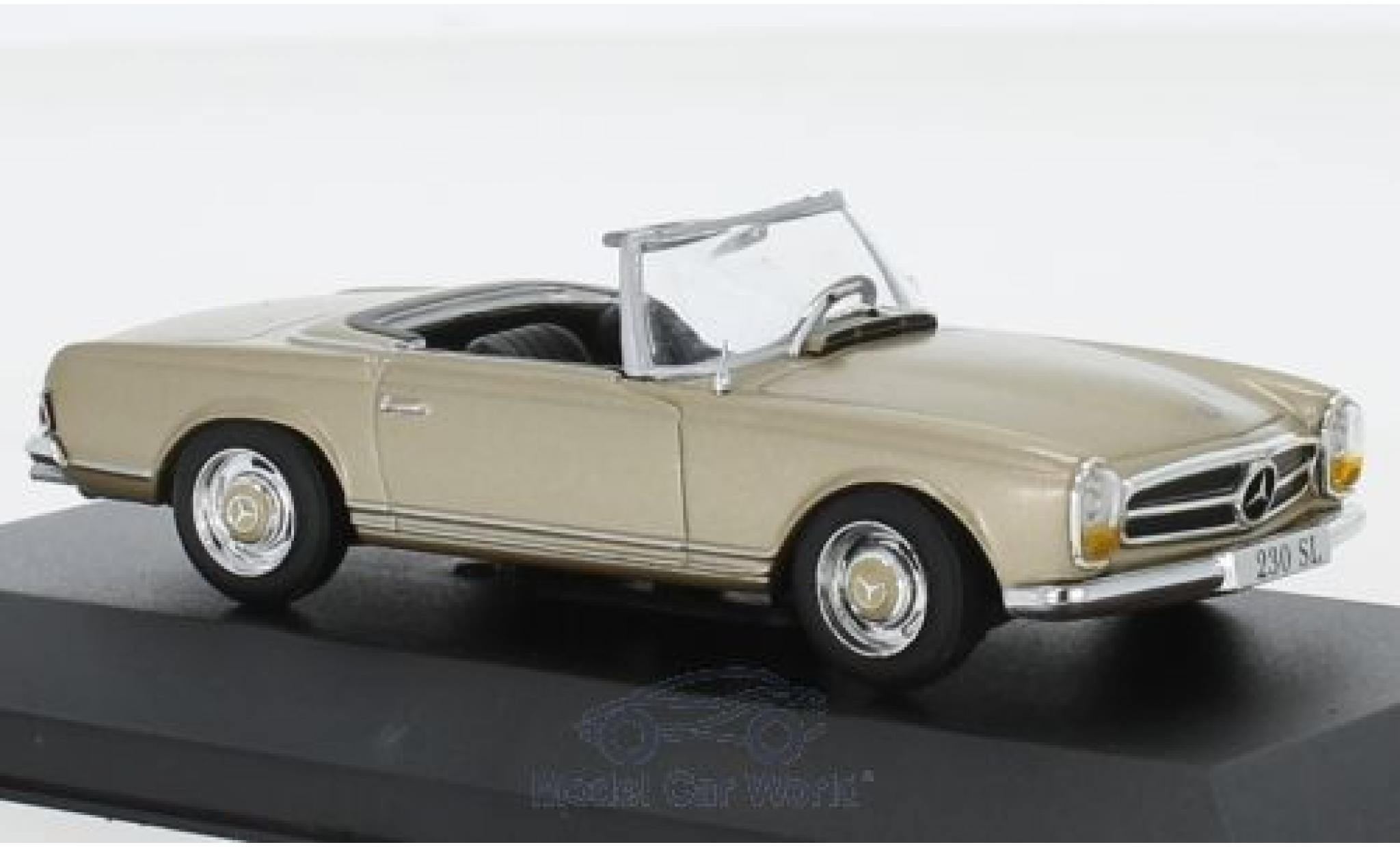Mercedes 230 1/43 Pct SL (W113) metallise beige 1963