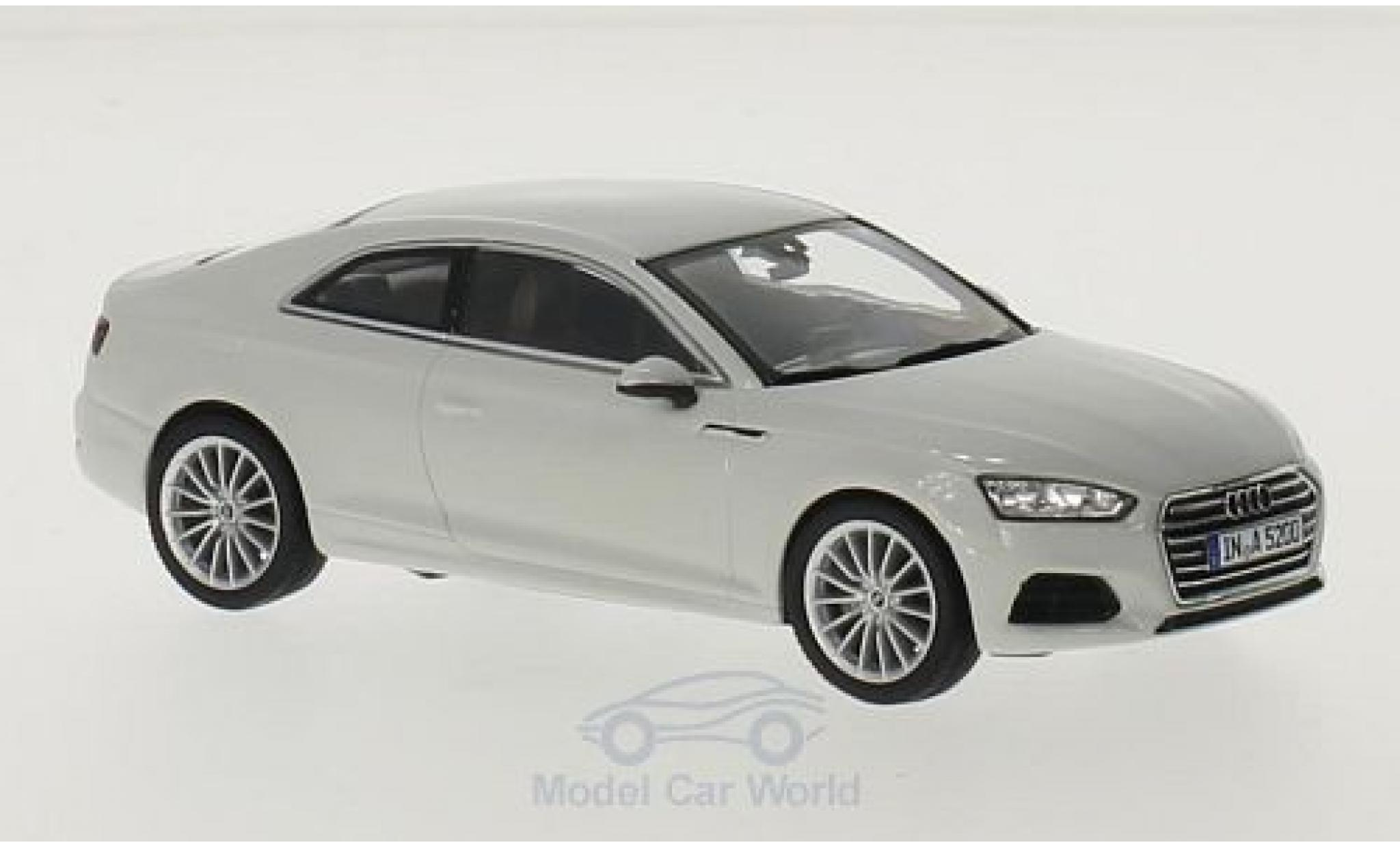 Audi A5 1/43 Spark Coupe blanche