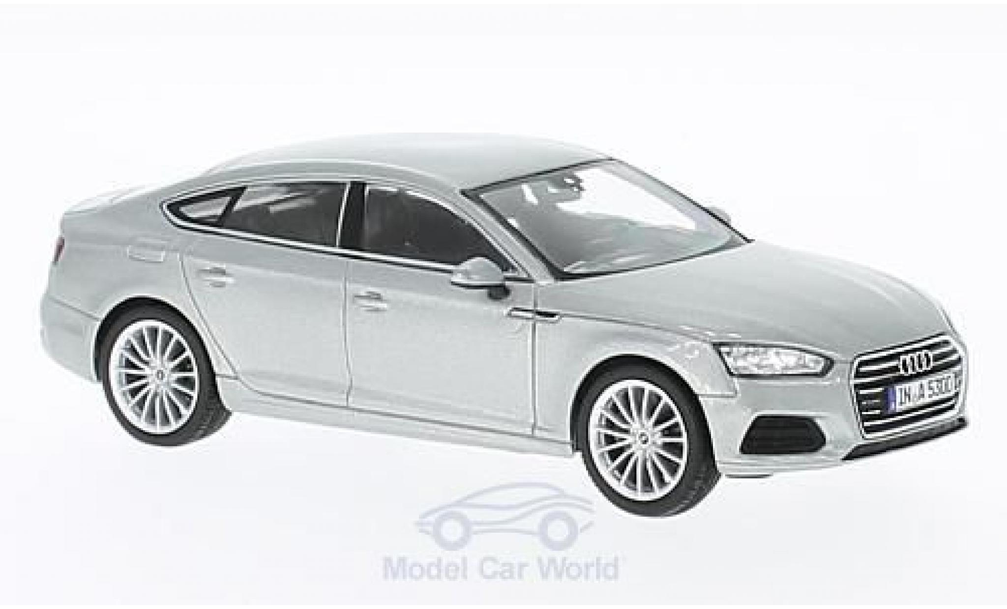 Audi A5 1/43 Spark Sportback grise 2016