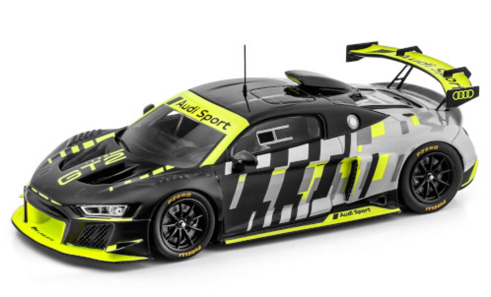 Audi R8 1/43 I Spark LMS GT2 matt-black/metallise grey Sport véhicule de présentation