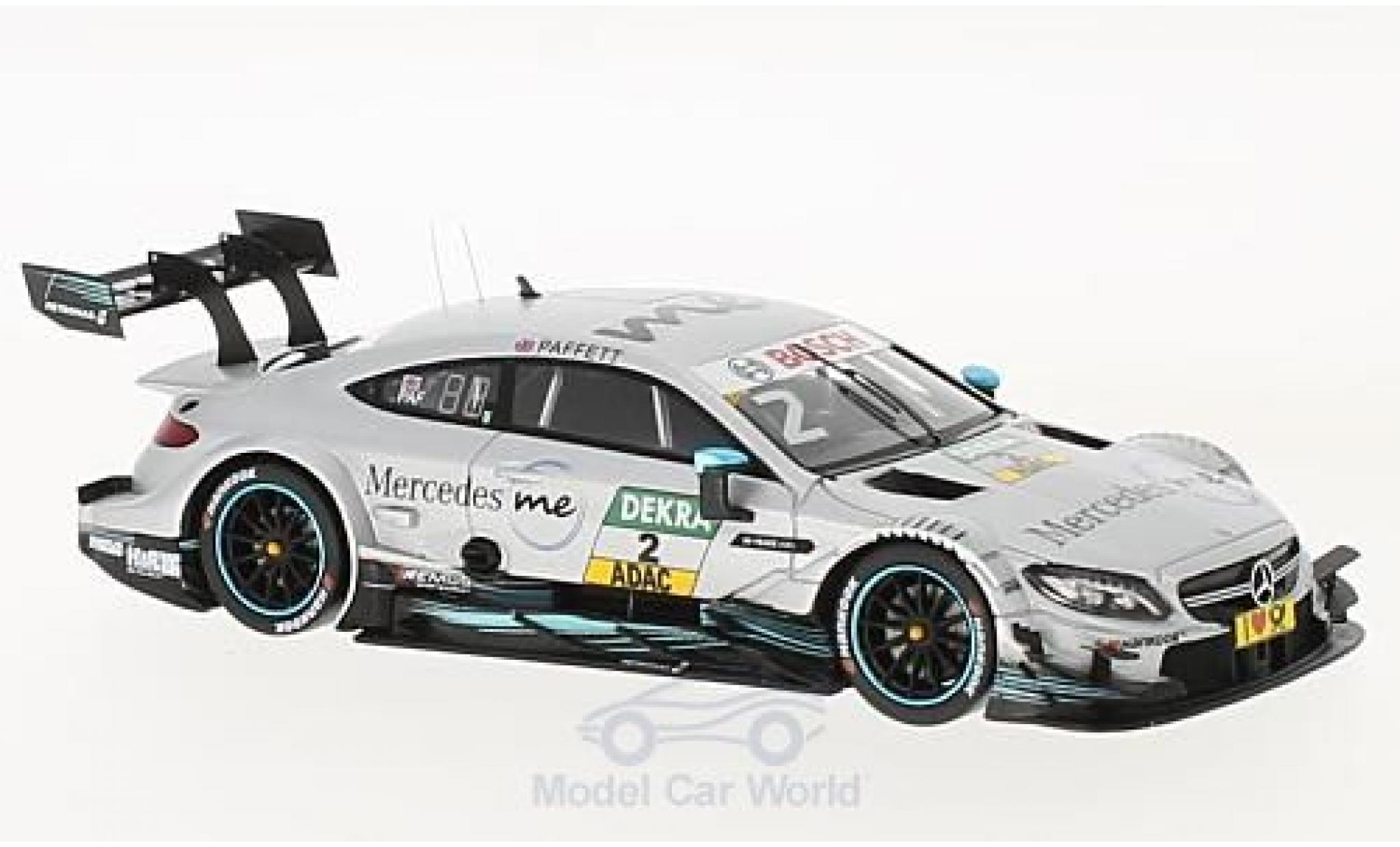 Mercedes Classe C DTM 1/43 Spark AMG C63 No.2 2017 G.Paffett
