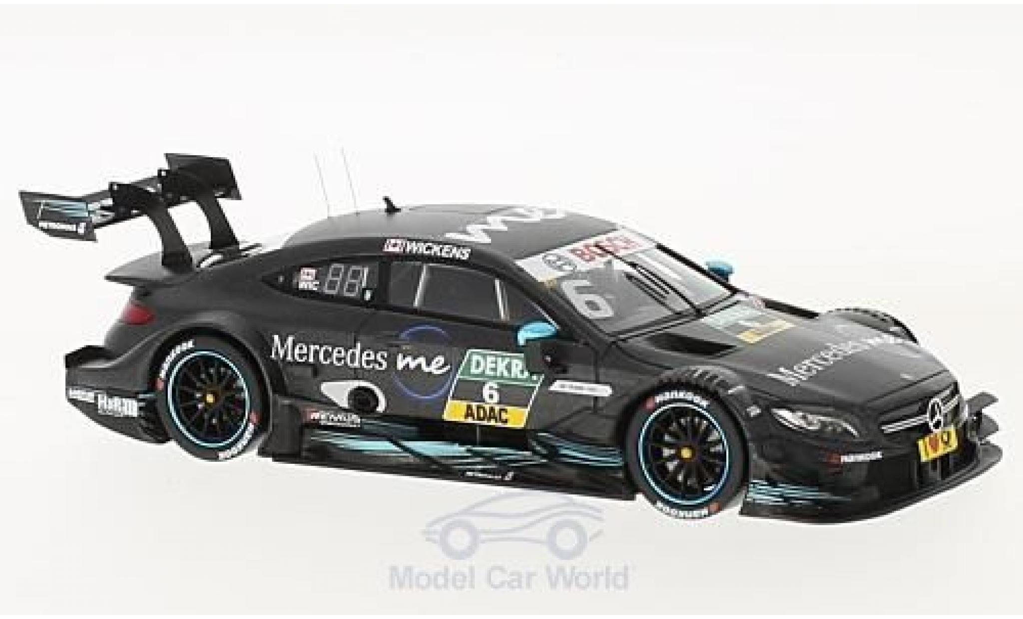 Mercedes Classe C DTM 1/43 Spark AMG C63 DTM No.6 DTM 2017 R.Wickens