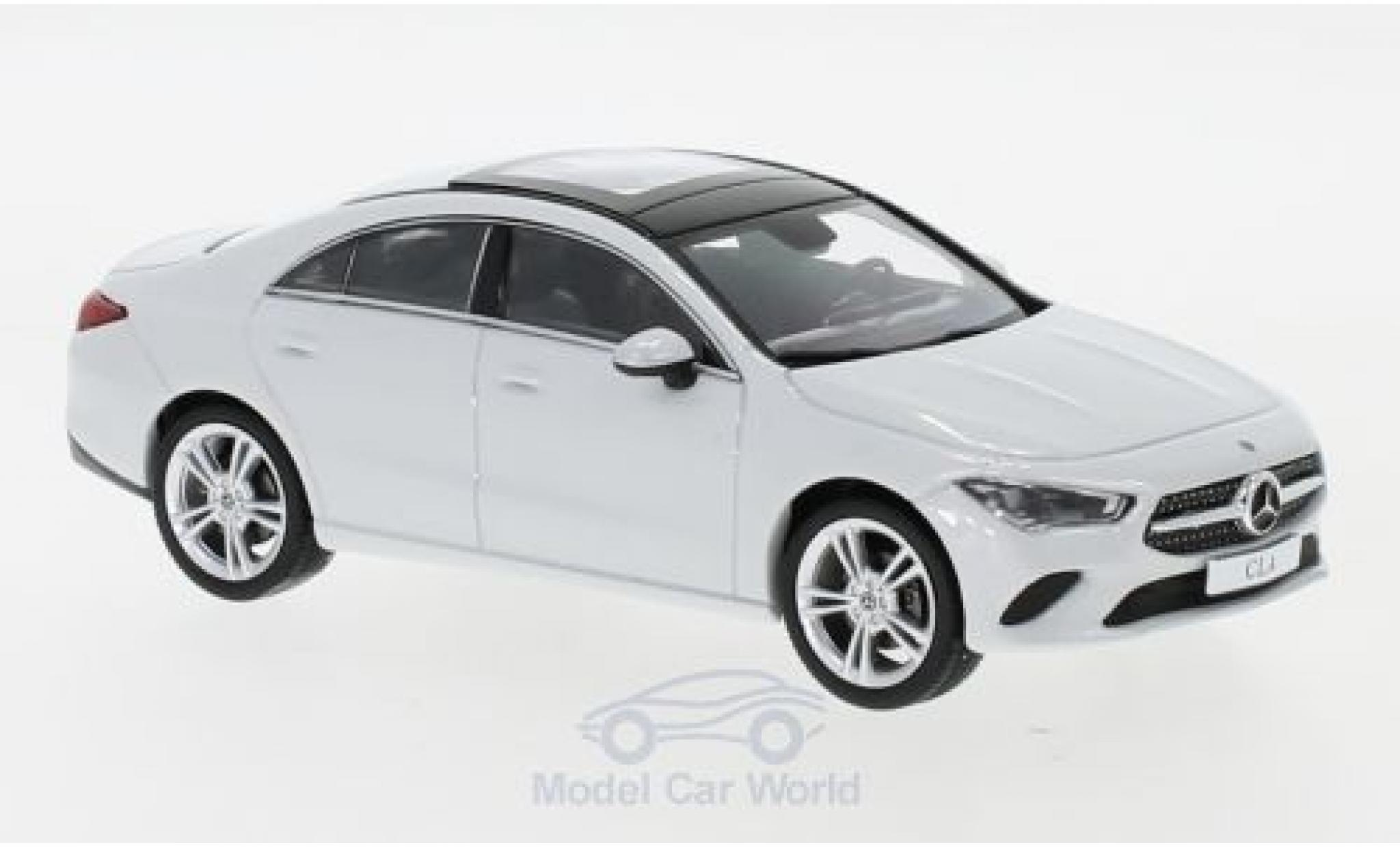 Mercedes CLA 1/43 Spark Coupe (C118) metallise blanche