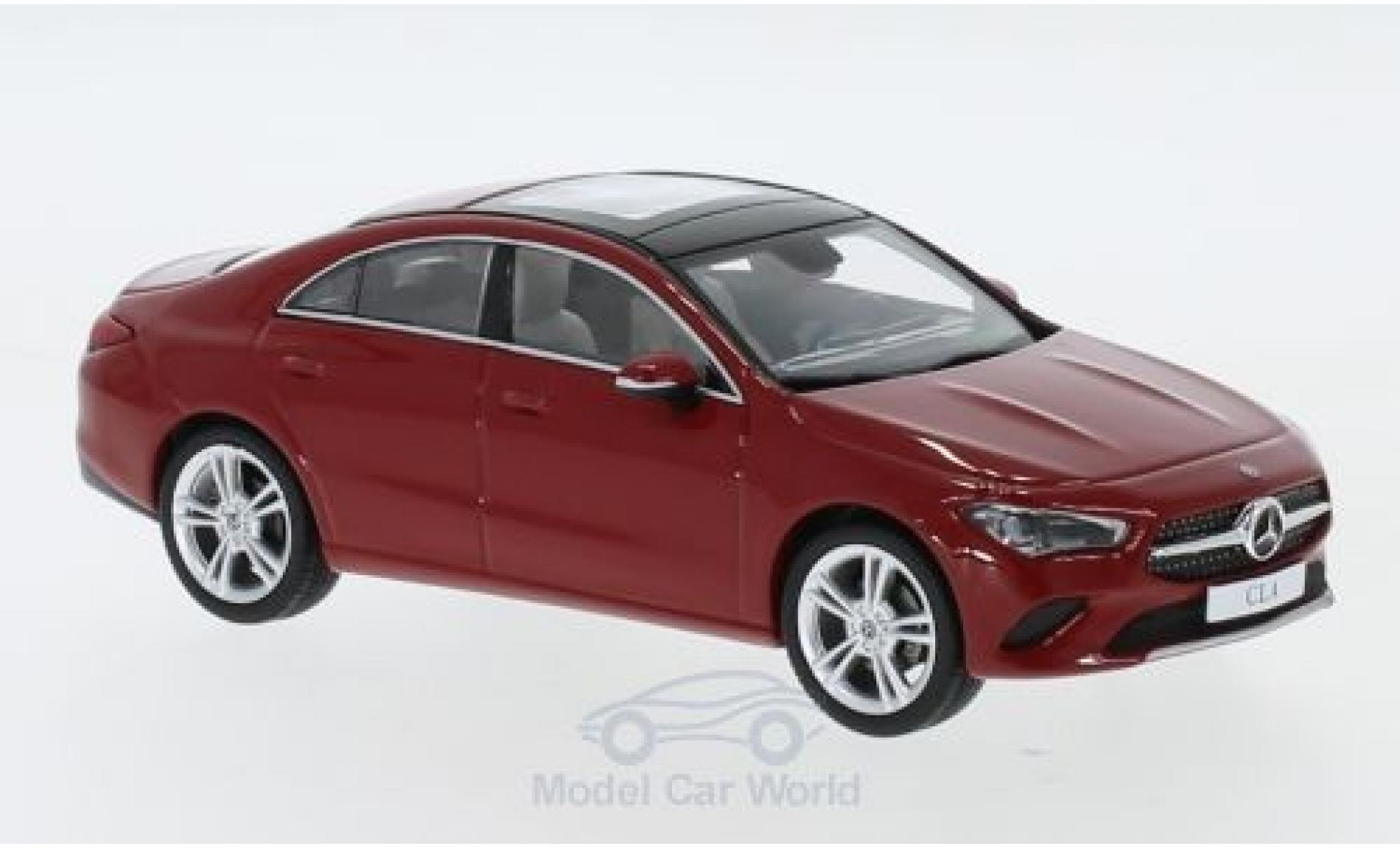 Mercedes CLA 1/43 I Spark Coupe (C118) rouge 2019