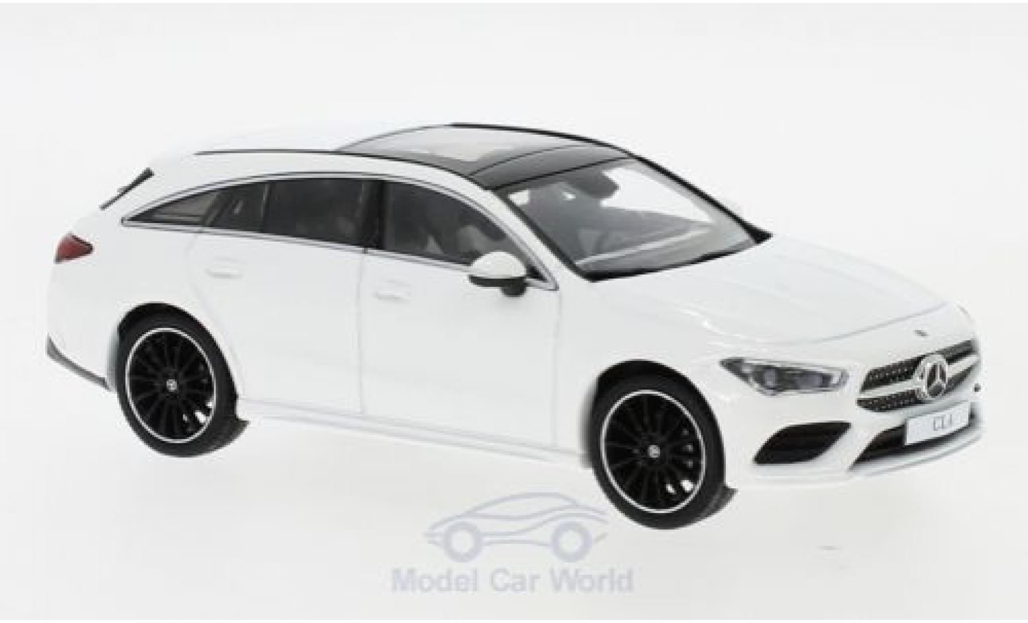Mercedes CLA 1/43 I Spark Shooting Brake blanche 2019