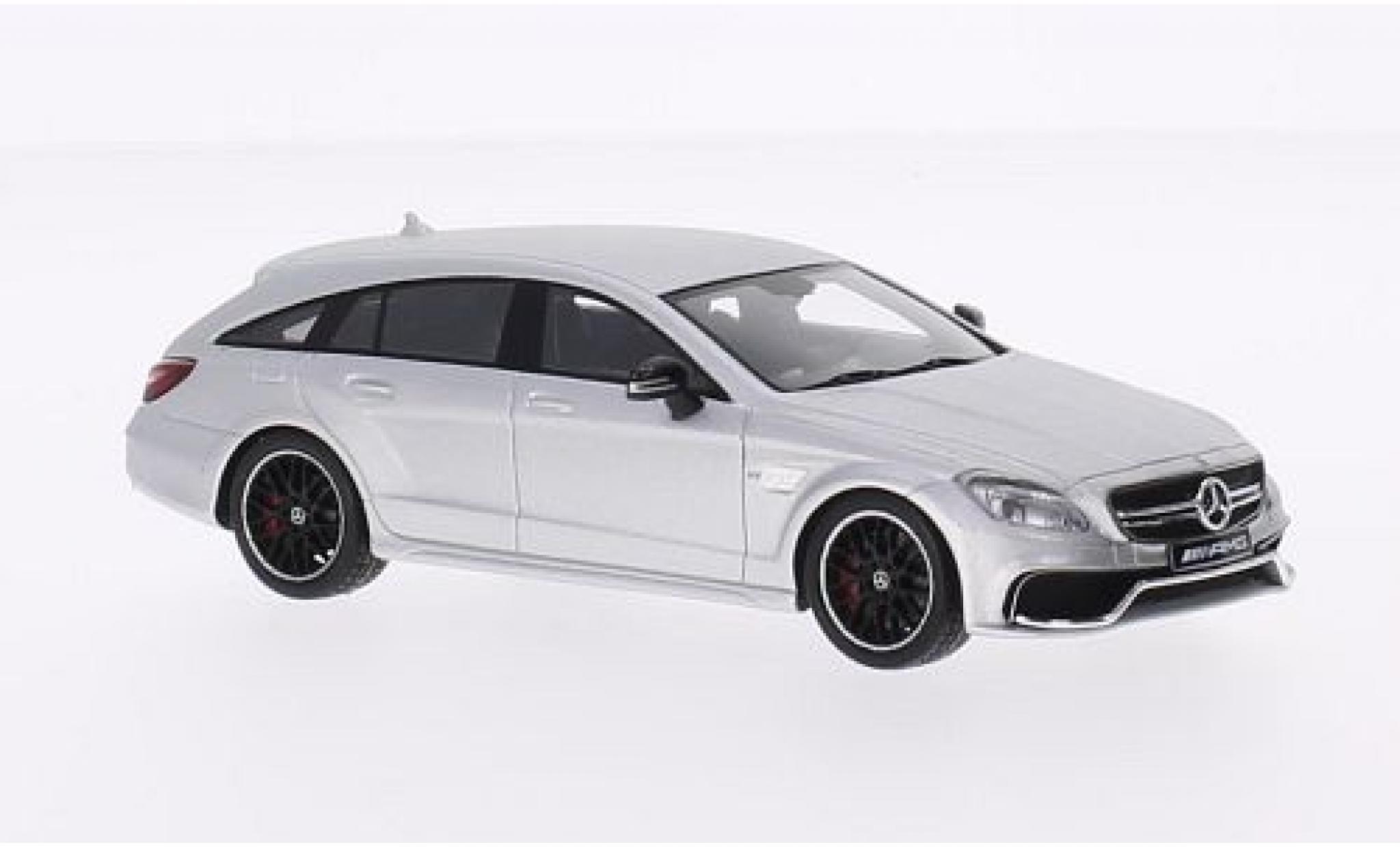 Mercedes CLS 1/43 I Spark 63 AMG 4Matic Shooting Brake grise