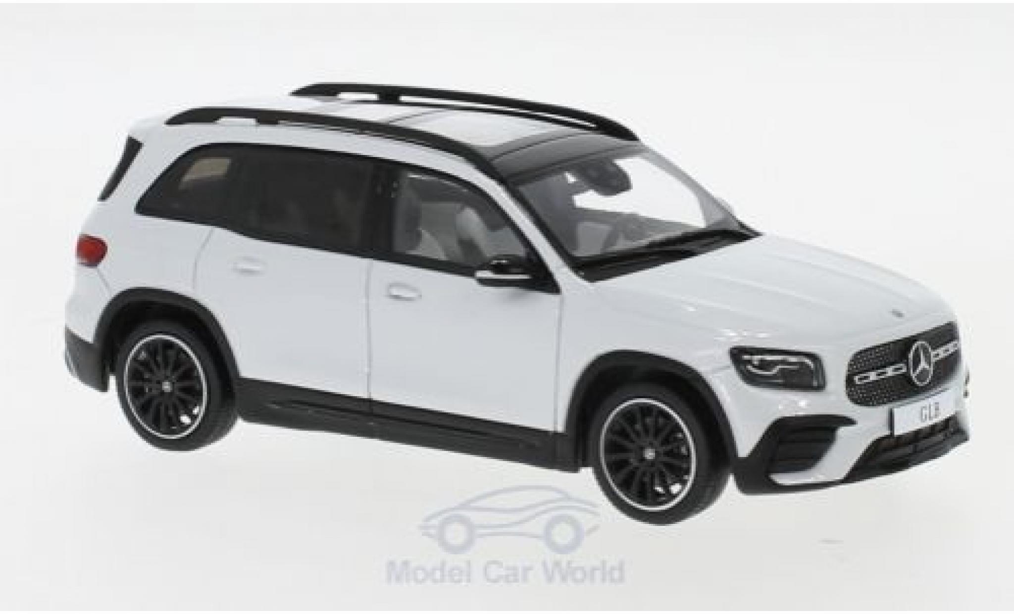 Mercedes Classe G 1/43 I Spark GLB (X247) métallisé blanche 2019