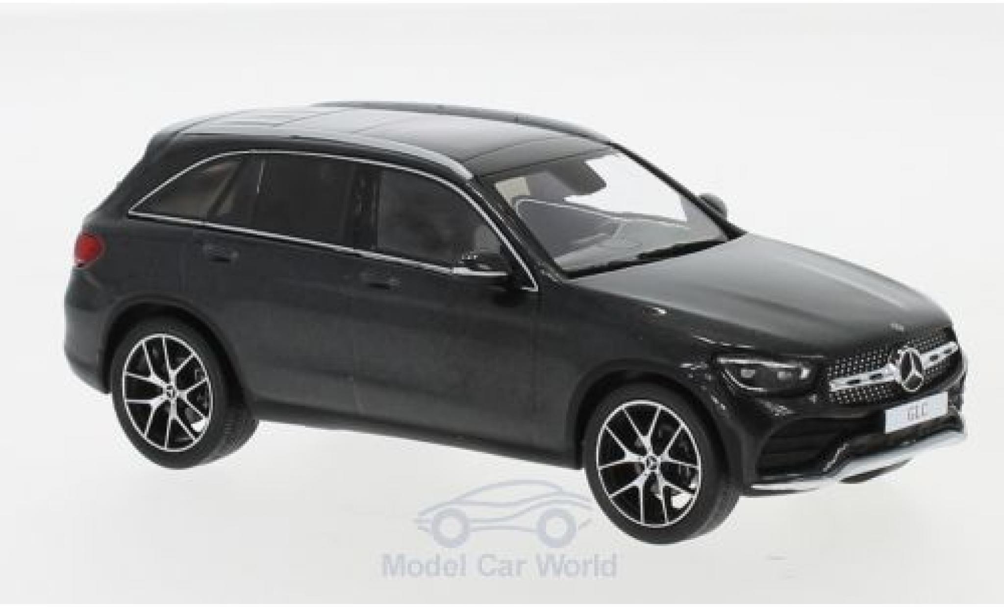 Mercedes Classe GLC 1/43 Spark GLC (X253) Mopf metallise grise 2019