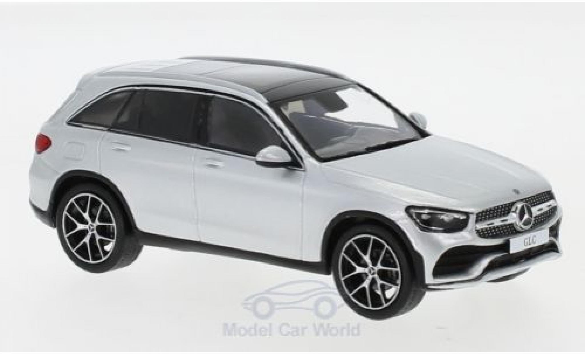 Mercedes Classe GLC 1/43 Spark GLC (X253) Mopf grise 2019