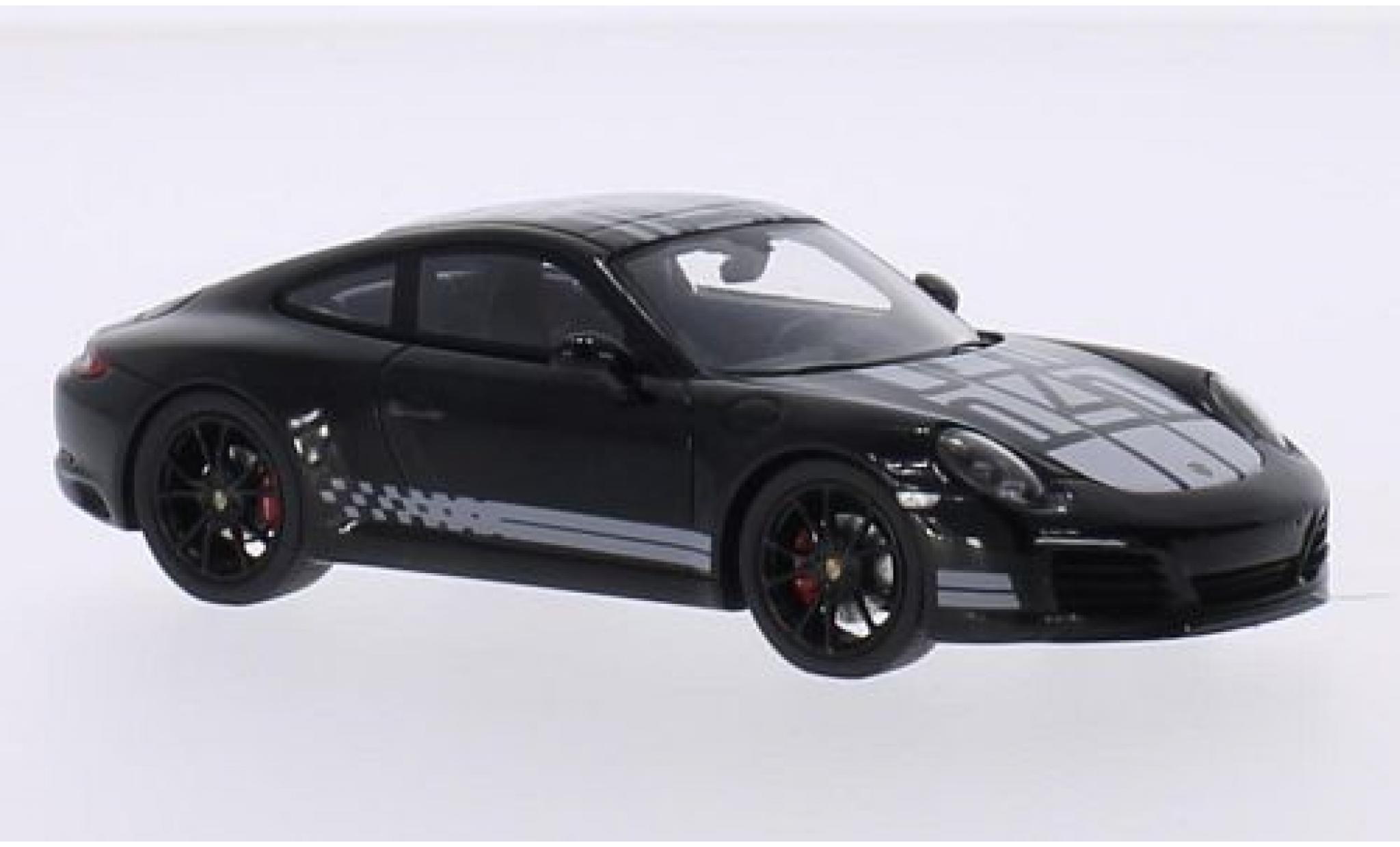 Porsche 991 S 1/43 Spark 911  Carrera Endurance Racing Edition black/Dekor 2016
