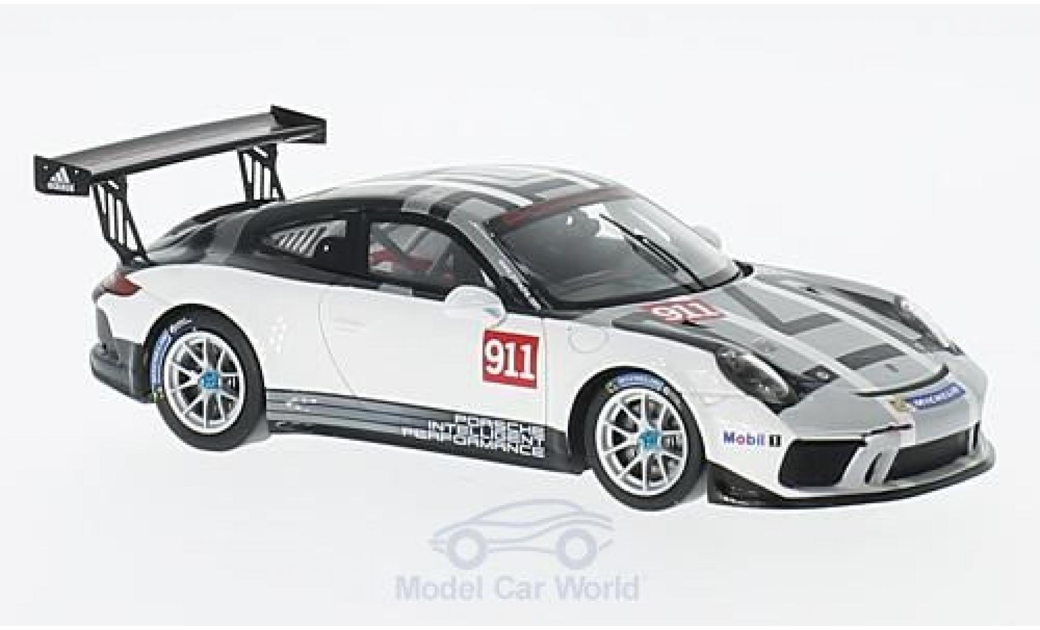 Porsche 991 GT3 Cup 1/43 Spark 911  No.911 Sports Cup 2017 Promo Version