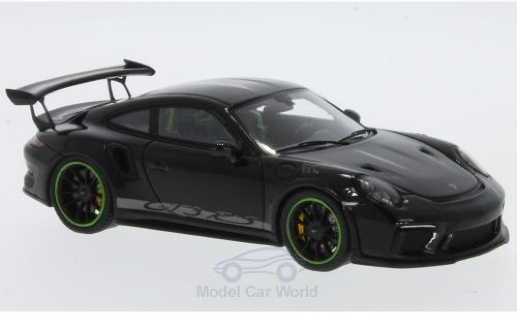 Porsche 991 SC 1/43 Spark (991) GT3  noire