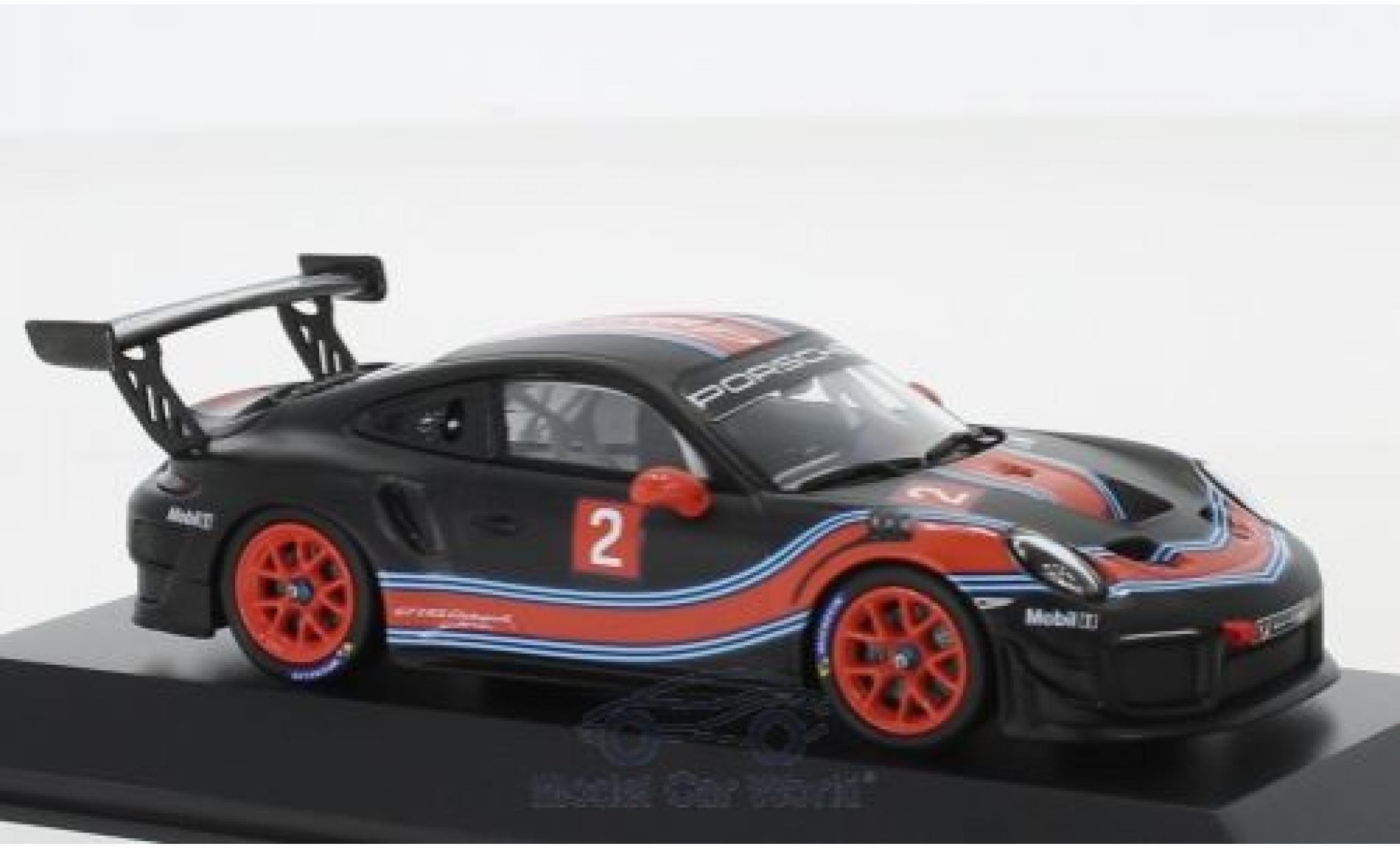 Porsche 911 1/43 I Spark (991 II) GT2 RS Clubsport matt-noire/Dekor