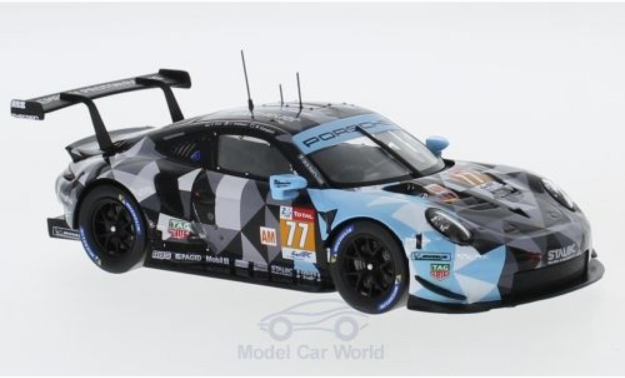 Porsche 991 RSR 1/43 Spark 911 ( II) No.77 Dempsey Predon Racing WEC 2018 C.Ried/J.Andlauer/M.Campbell