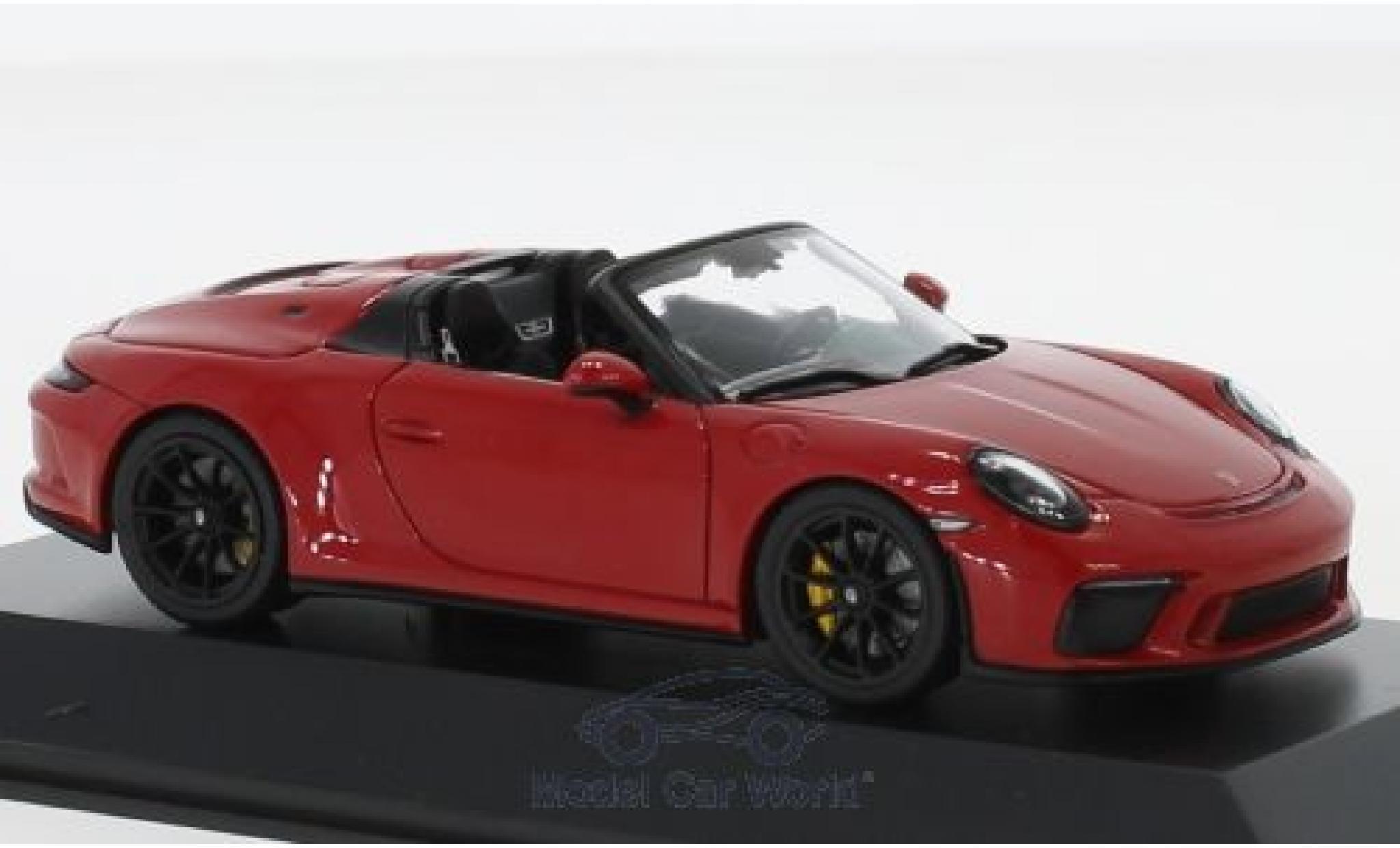 II PORSCHE 911 991 Speedster anno di costruzione 2019 BIANCO 1:43 SPARK