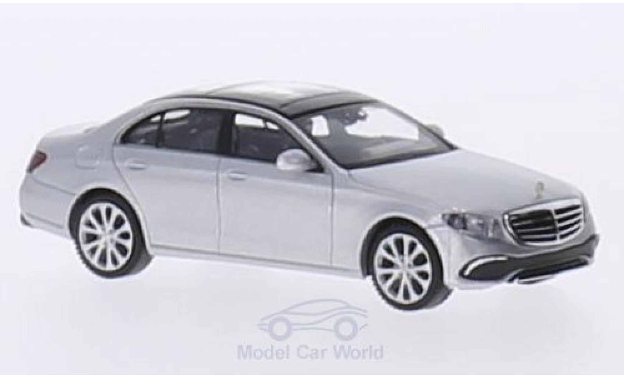 Mercedes Classe E 1/87 Wiking (W213) Exclusive grise
