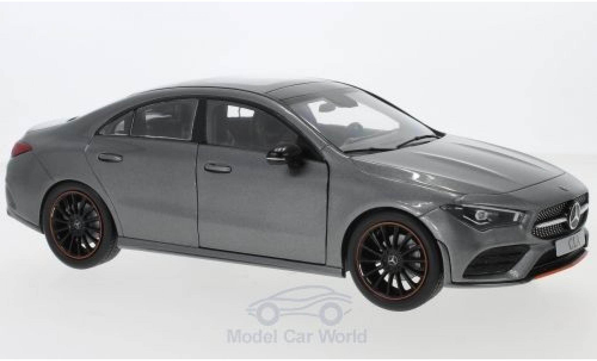 Mercedes CLA 1/18 I Z Models (C118) matt-grise 2019