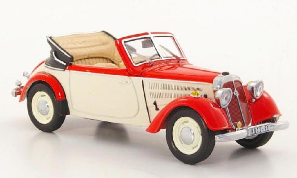 ifa f8 cabrio red white 1953 mcw diecast model car 1 43. Black Bedroom Furniture Sets. Home Design Ideas