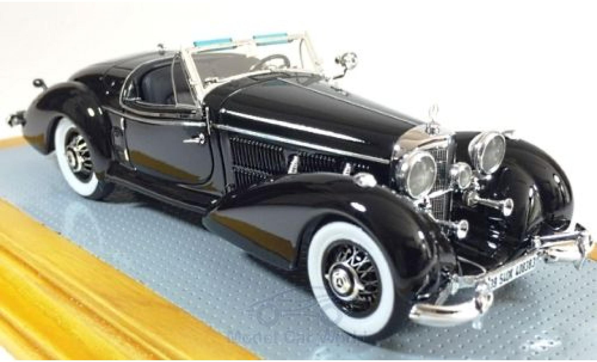 Mercedes 540 1/43 Ilario K Spezial Roadster noire 1939 sn408383