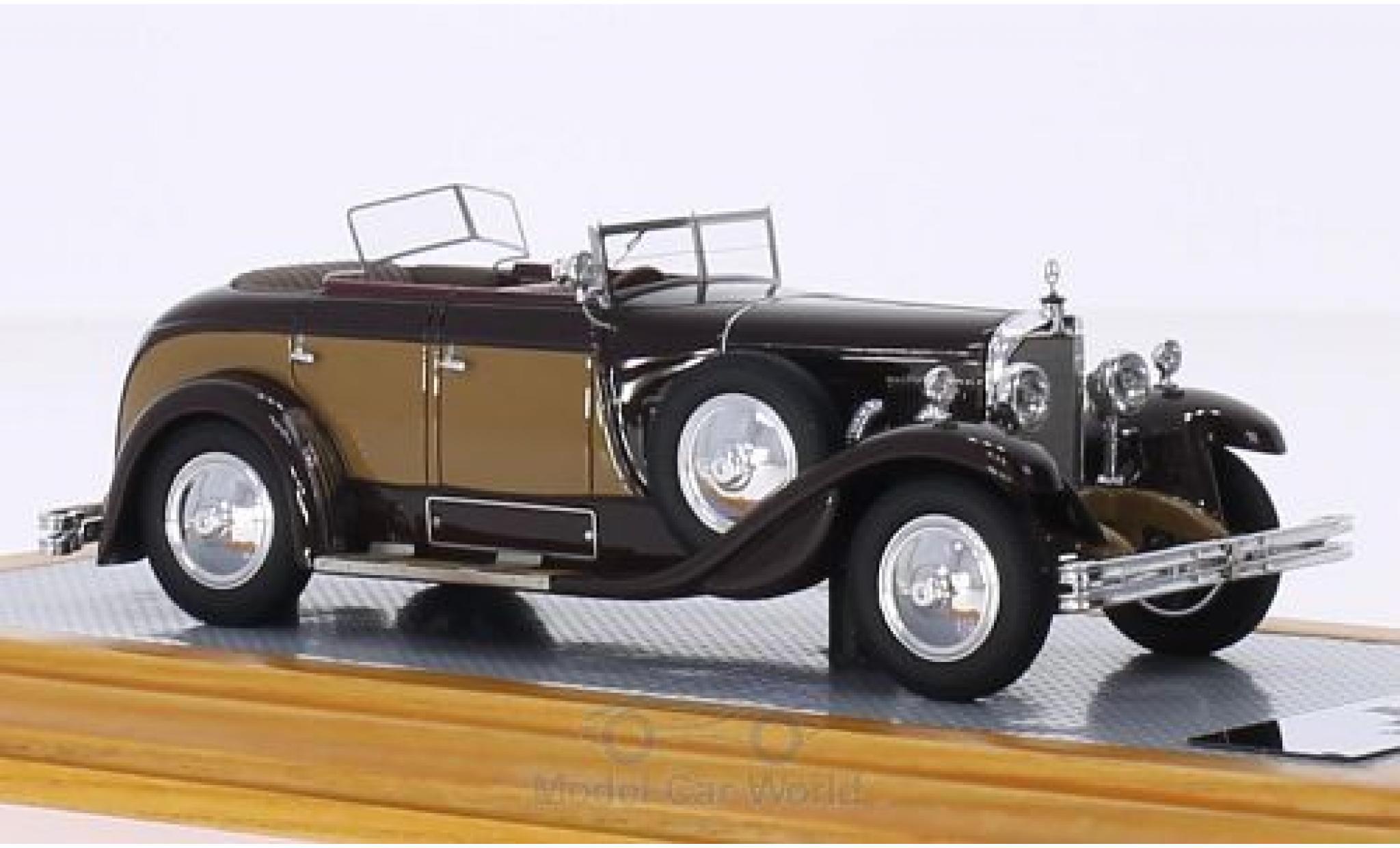 Mercedes Classe S 1/43 Ilario 630K Saoutchik Torpedo Transformable marron/marron RHD 1928