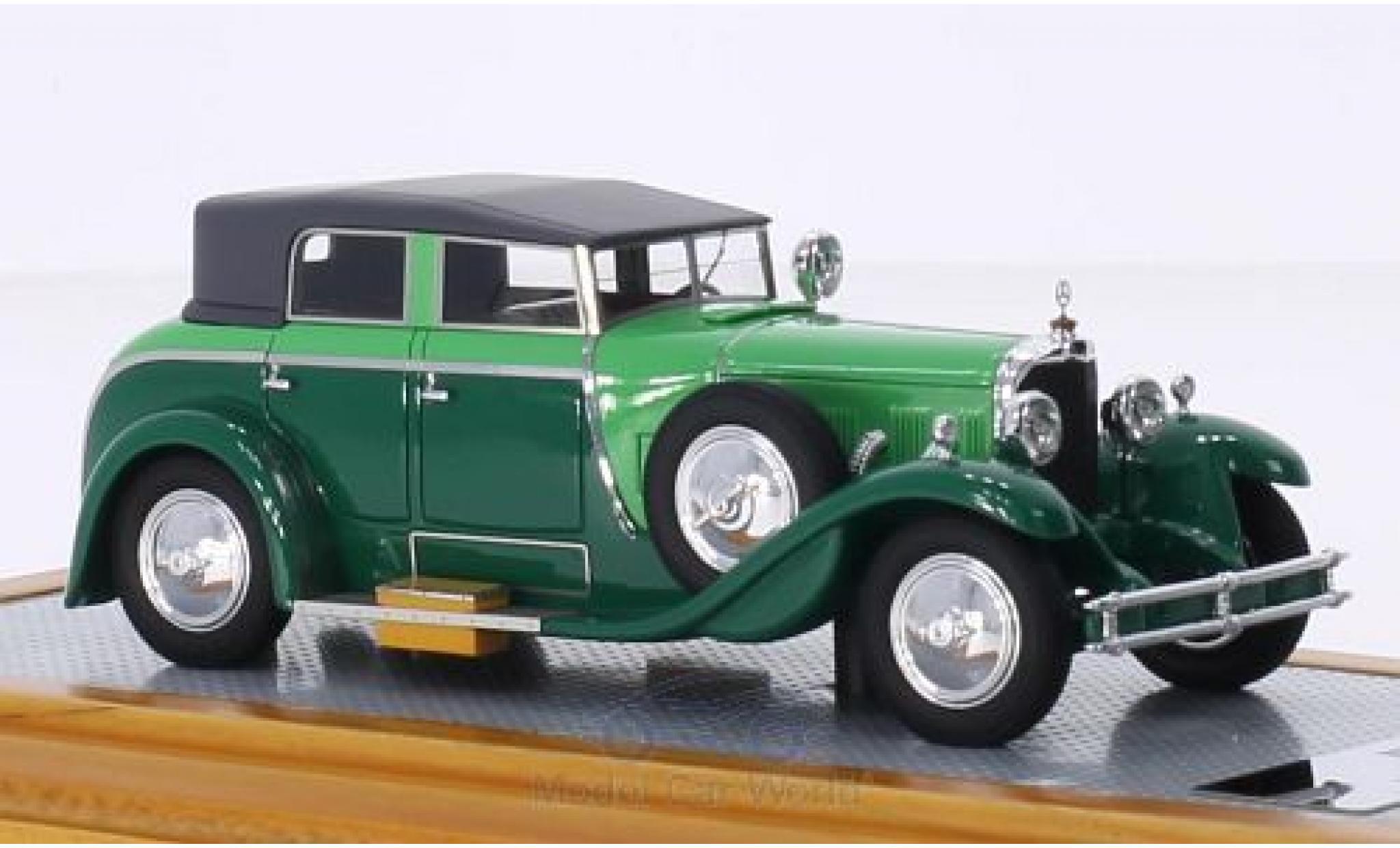 Mercedes Classe S 1/43 Ilario 630K Saoutchik Torpedo Transformable verte/verte 1932