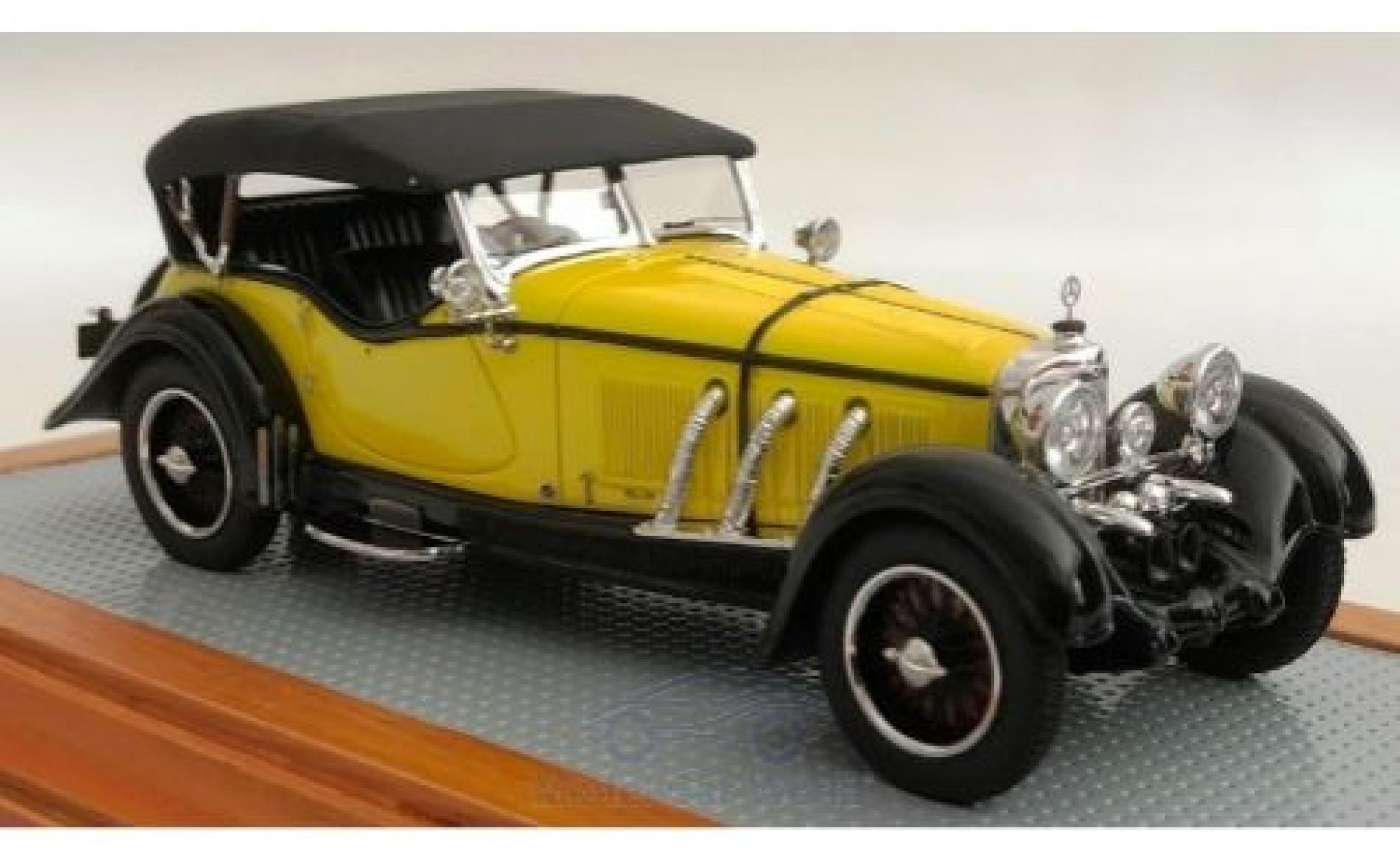 Mercedes Classe GLA 1/43 Ilario S-Type 26/180 Sports Tourer Buhne jaune/noire 1928 sn35920 Gläser