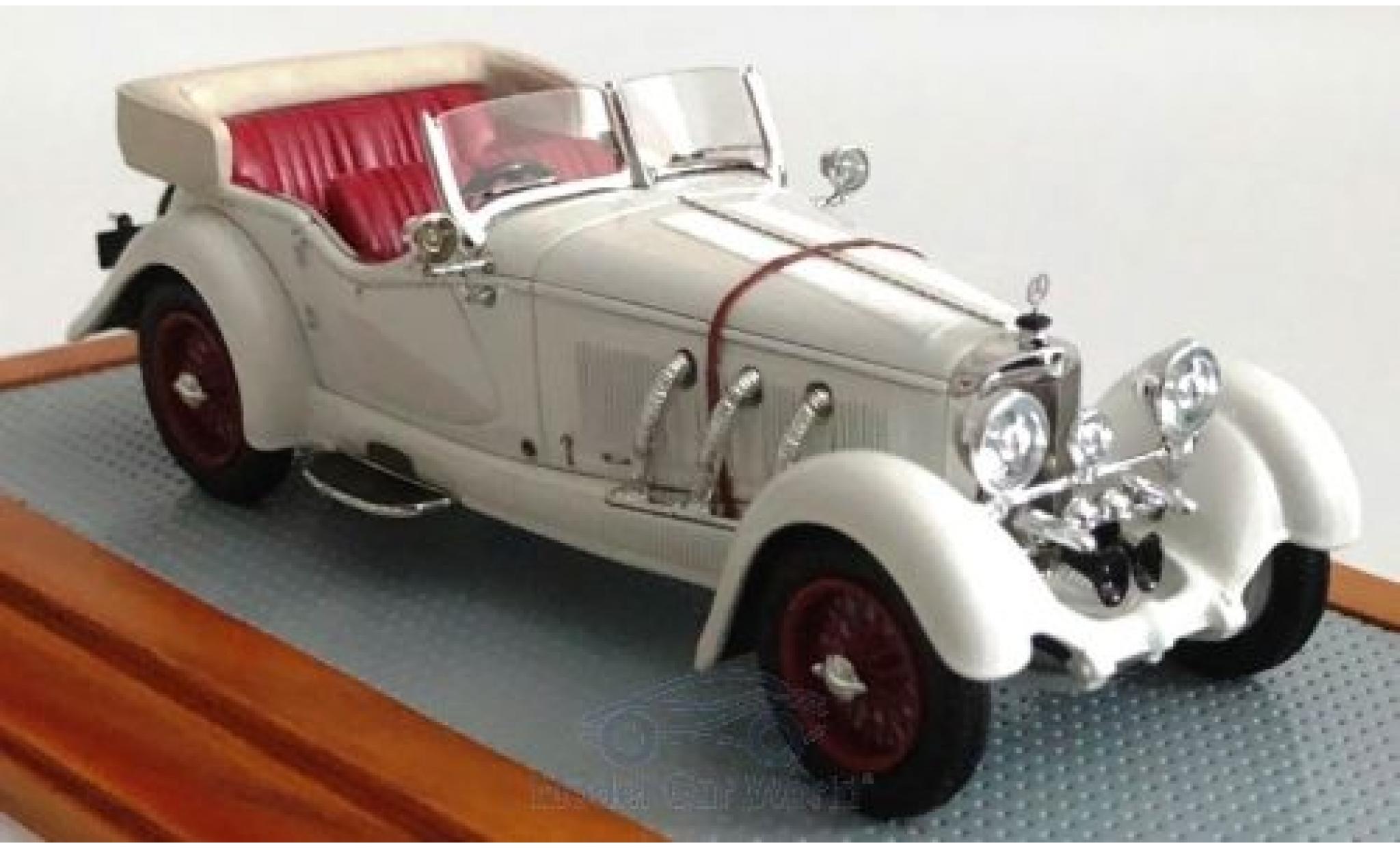 Mercedes Classe GLA 1/43 Ilario S-Type 26/180 Sports Tourer Buhne blanche 1928 sn35920 Gläser