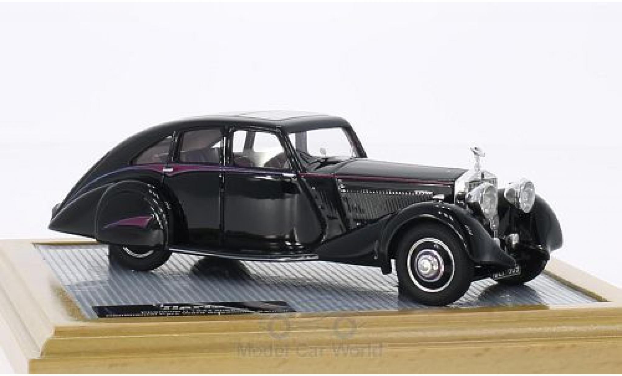 Rolls Royce Phantom 1/43 Ilario II Continental Park Ward Streamline Saloon noire 1934