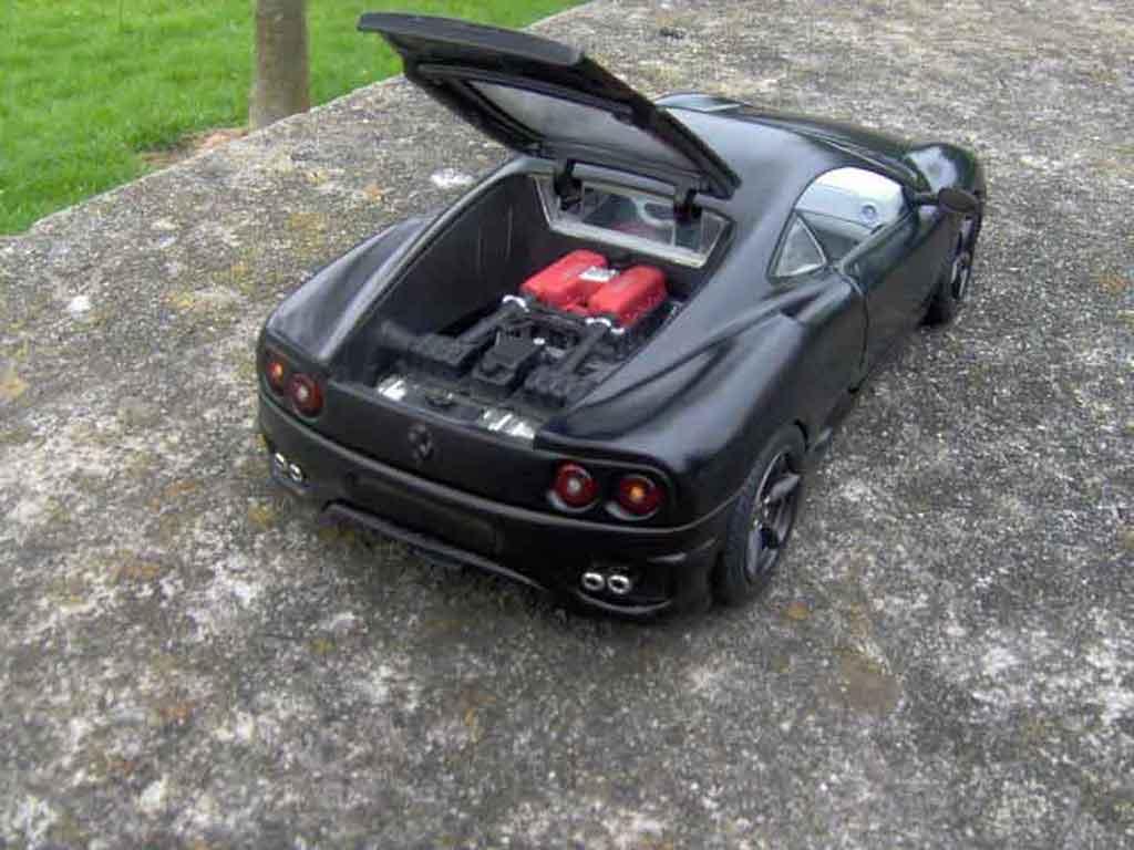 Ferrari 360 Modena 1/18 Burago coupe noire