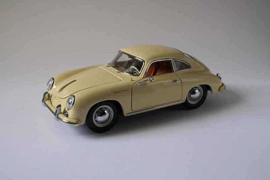 Porsche 356 A Beige Sun Star Diecast Model Car 1 18 Buy