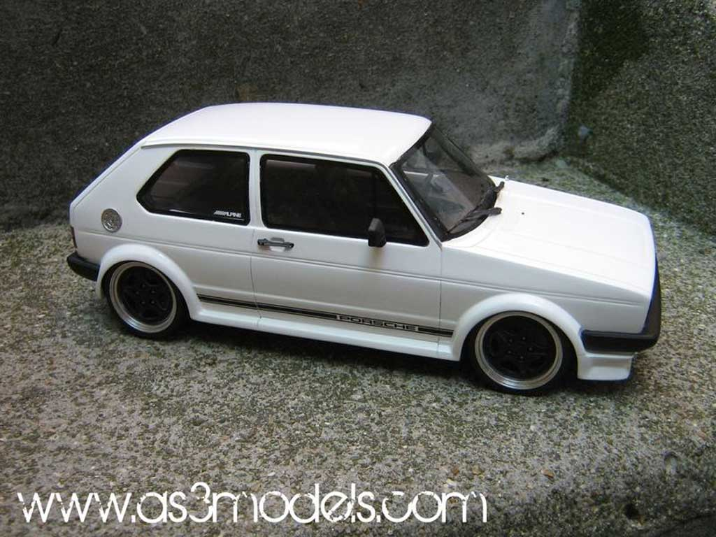 Volkswagen Golf 1 GTI 1/18 Ottomobile Oettinger preparation porsche