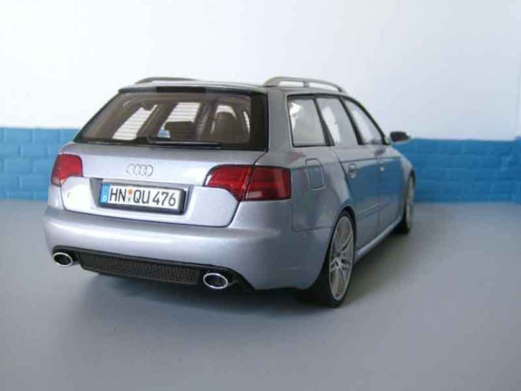 audi rs4 avant grau minichamps modellauto 1 18 kaufen. Black Bedroom Furniture Sets. Home Design Ideas