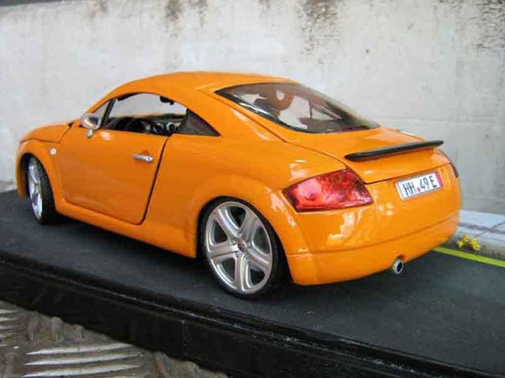 Audi TT coupe orangesignal porsche jantes touareg tuning Revell. Audi TT coupe orangesignal porsche jantes touareg miniature miniature 1/18