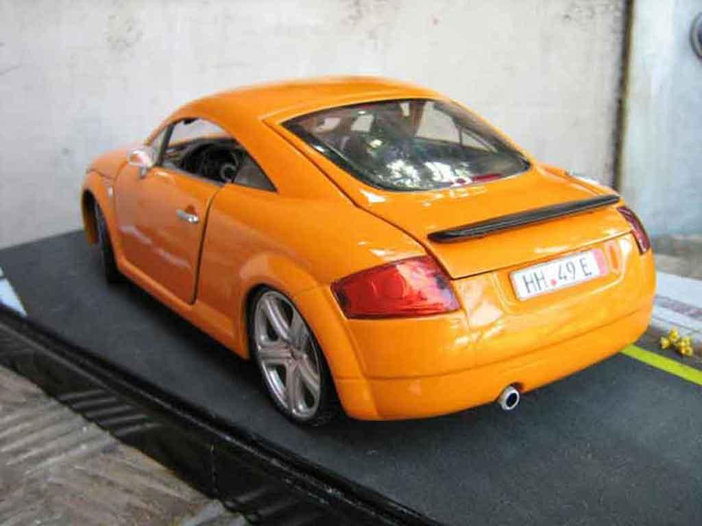 Audi Tt Coupe Miniature Orangesignal Porsche Jantes