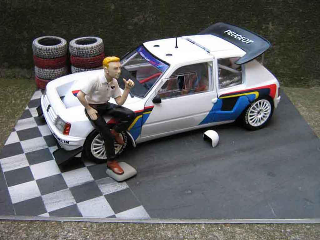 Peugeot 205 Turbo 16 1/18 Solido presentation rallye T16