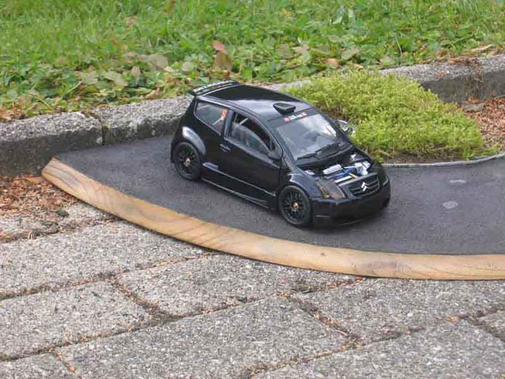 Citroen C2 1/18 Solido street race trohpy