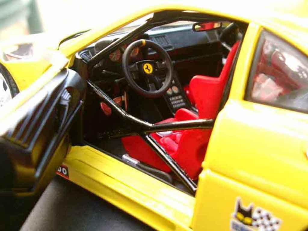 Ferrari 348 TB 1/18 Burago race car