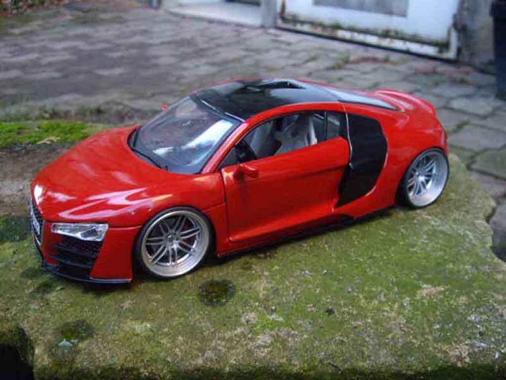 Audi R8 1/18 Maisto tdi jantes rs4