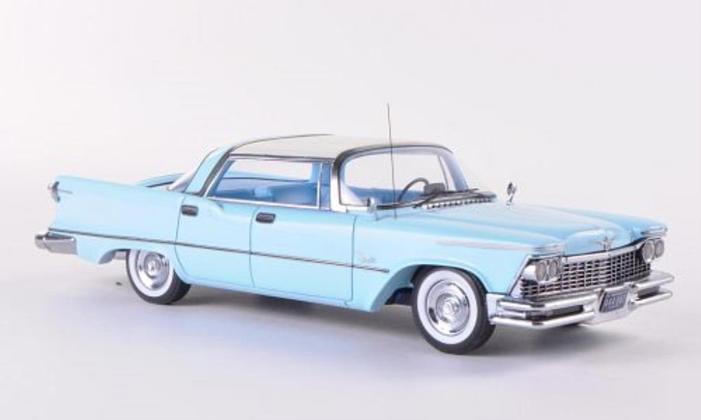 Imperial Crown Southampton 1/43 Neo 4-Door bleu/beige 1957 miniature