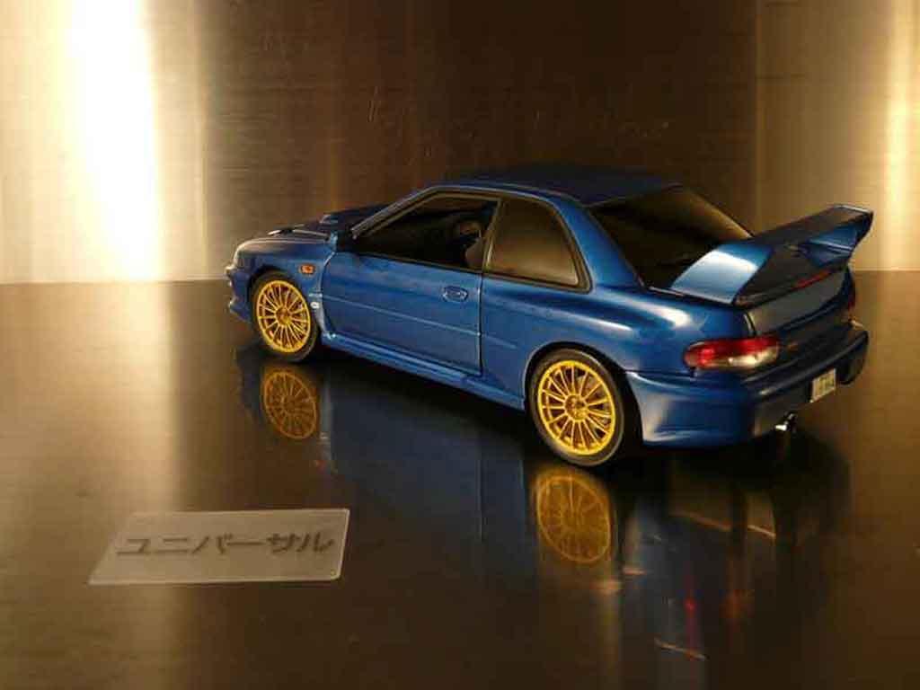Subaru Impreza 22B 1/18 Autoart tuning