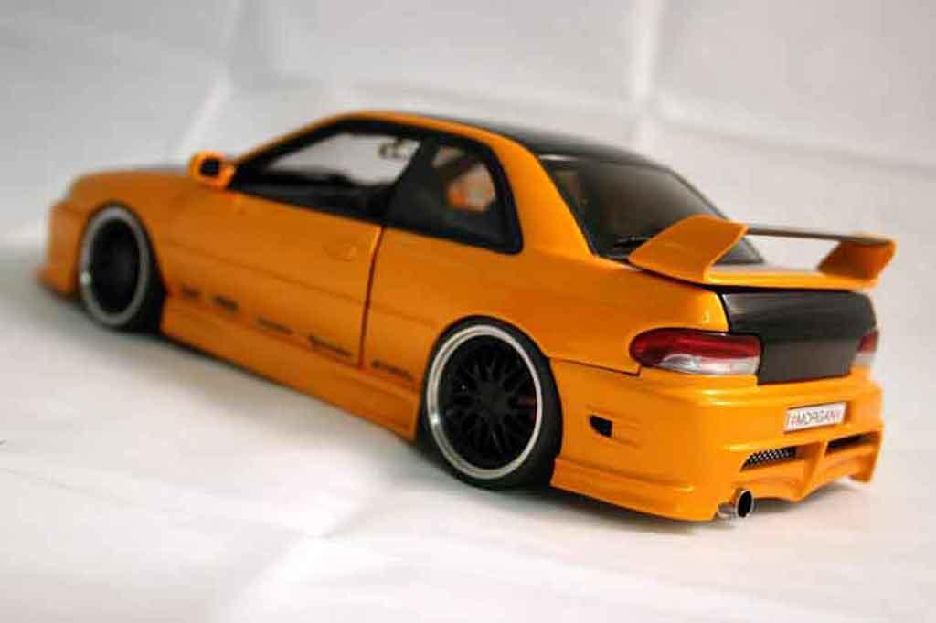 Subaru Impreza WRX Type R 1/18 Autoart gt turbo sti orange